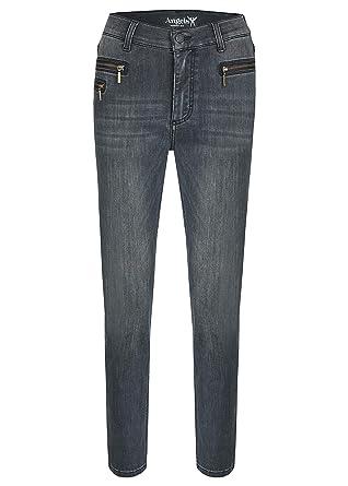 Angels Damen Jeans,Malu Zip  mit Zippertaschen  Amazon.de  Bekleidung d2104fe555