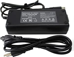 ROCKETY Da130pe1-00 Charger Compatible with Inspiron 15 15r N5010 N5110 5720 7720 N7010 N7110 Latitude E5410 E5520 E5530 E6230 E6320 XPS 15 9550 9530 XPS L502X L702X Laptop AC Power Adapter.