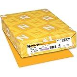 Astrobrights Color Paper, 8.5 x 11, 65 lb, Galaxy Gold, 250 Sheets