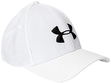 Under Armour Mütze UA Blitzing Cap - Gorra de golf para hombre, color blanco/negro, talla L: Amazon.es: Deportes y aire libre