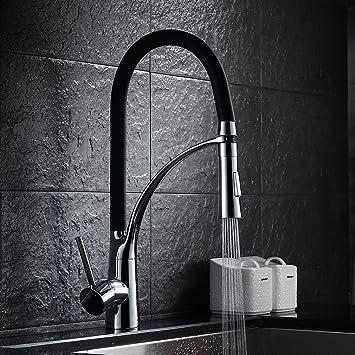 Auralum Wasserhahn Küche Küchenarmatur Armatur 360° Drehbar Spüle ...
