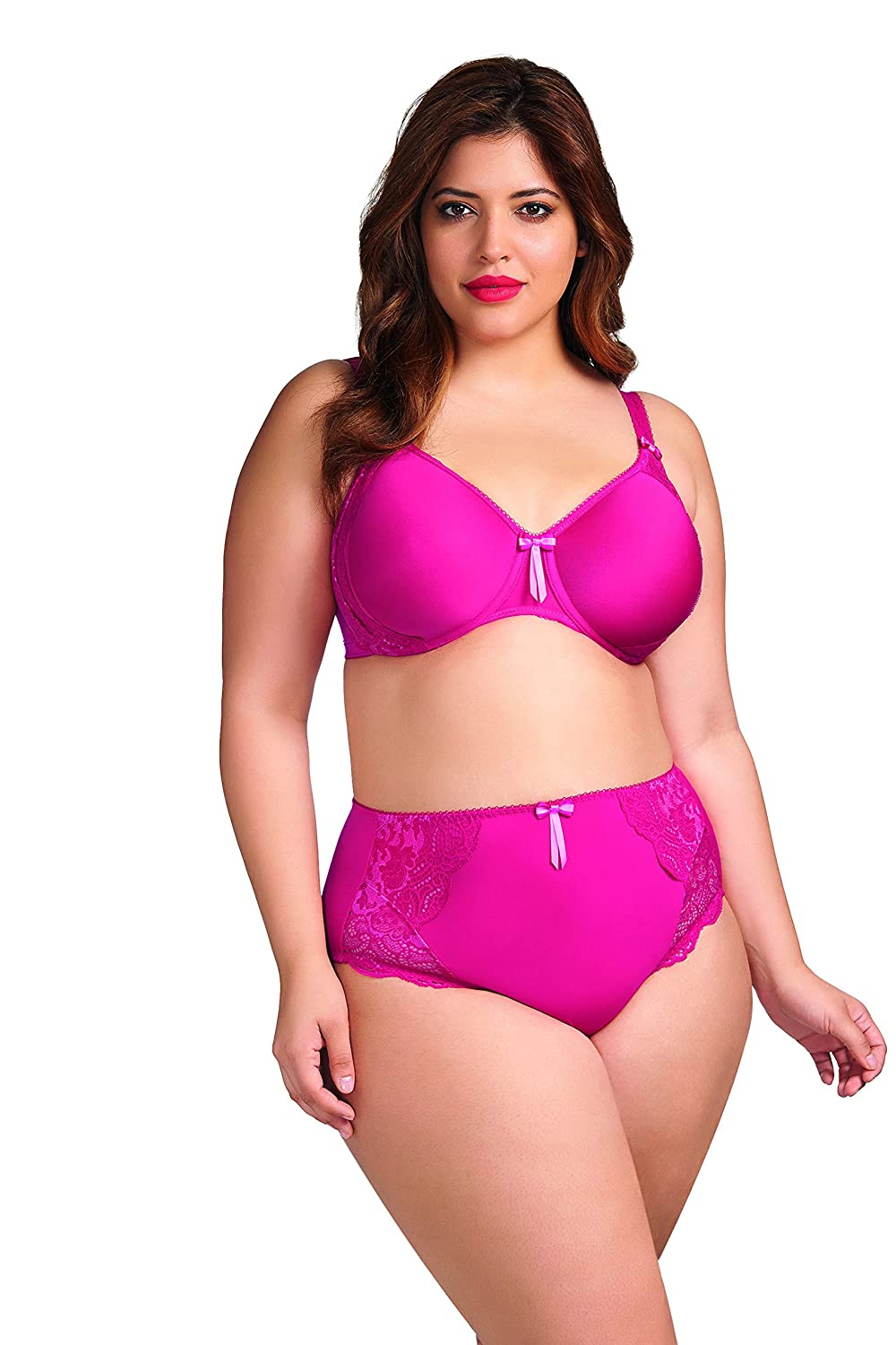Elomi Women's Plus-Size Amelia Band Less Underwire Spacer Molded Bra Elomi Intimate Apparel EL8740