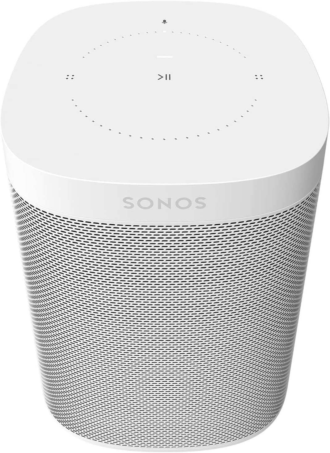Sonos One (Gen 2) - Voice Controlled Smart Speaker with  Alexa Built-In - White: Home Audio & Theater
