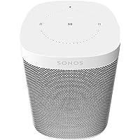 Sonos One Generación 2 – Poderosa bocina inteligente controlada por voz con Amazon Alexa (Color Blanco)