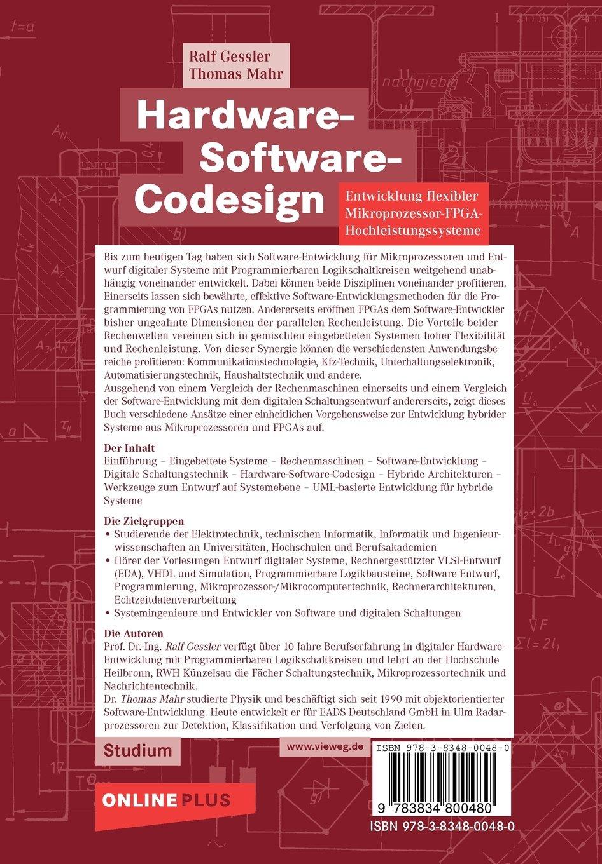 Hardware-Software-Codesign: Entwicklung Flexibler Mikroprozessor ...
