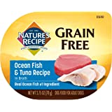 Nature's Recipe Wet Dog Food, Ocean Fish & Tuna in Broth Recipe, 2.75 Ounce Cup (Pack of 12), Grain Free