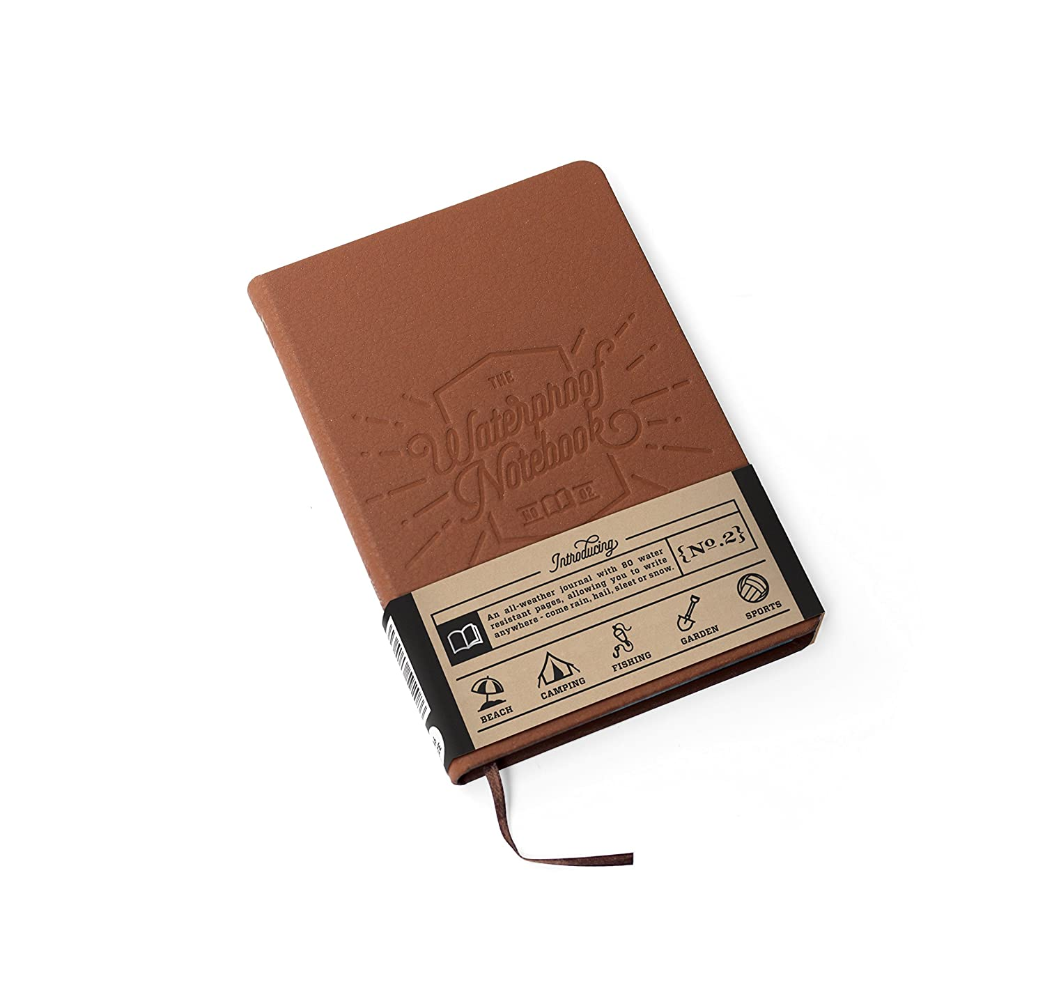 Luckies of London Lukwat - Libreta 100% impermeable de viaje