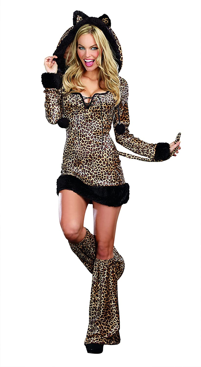 Amazon.com Dreamgirl Womenu0027s Cheetah Luscious Costume Brown Small Clothing  sc 1 st  Amazon.com & Amazon.com: Dreamgirl Womenu0027s Cheetah Luscious Costume Brown Small ...