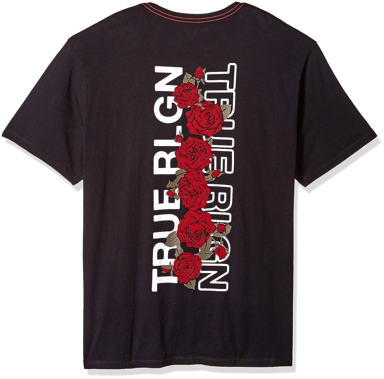 b8b5ab7f7 Amazon.com: True Religion Men's Rose Graphic Tee: Clothing
