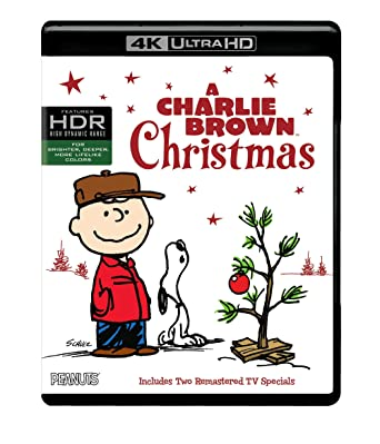 a charlie brown christmas 4k ultra hd blu ray - Charlie Brown Christmas Streaming