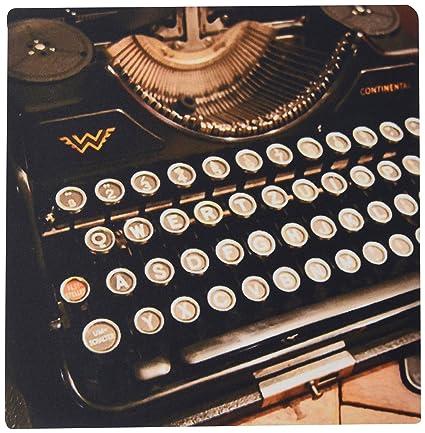 fongakde 9 x 7 x 0.25 Inches Mouse Pad, Continental máquina de escribir (MP
