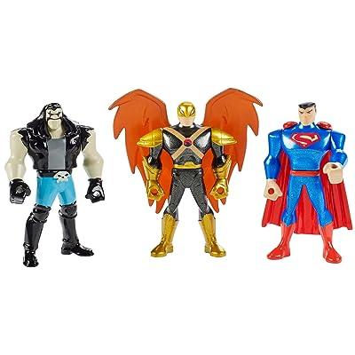 Mattel DC Justice League Action Hawkman Mini Figure, 3 Pack