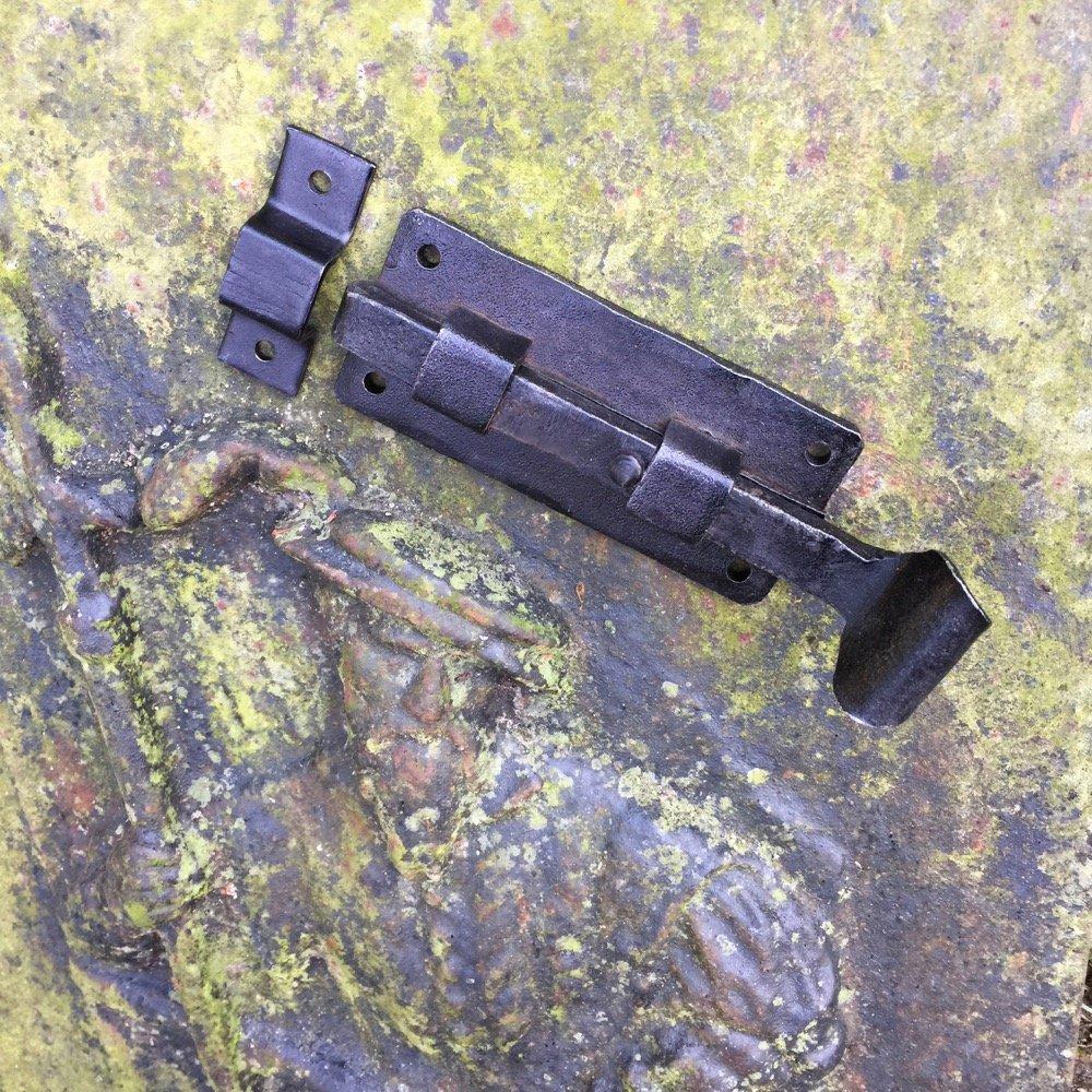 Schubriegel Riegel Stall Verschluss Tor Schiebeverschluss Antikas Antike Flachriegel