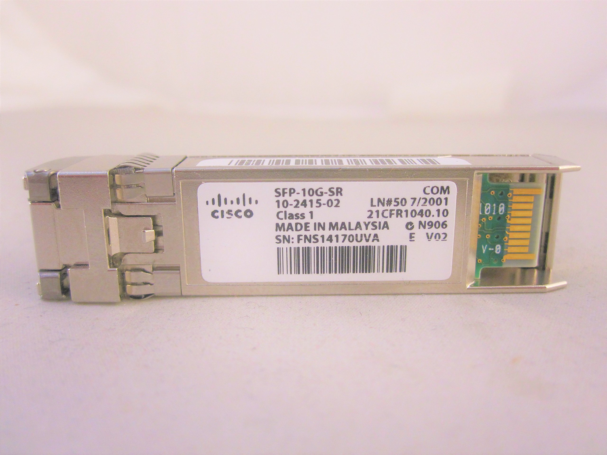 Cisco SFP-10G-SR 10GBase-SR SFP+ Transceiver by Cisco