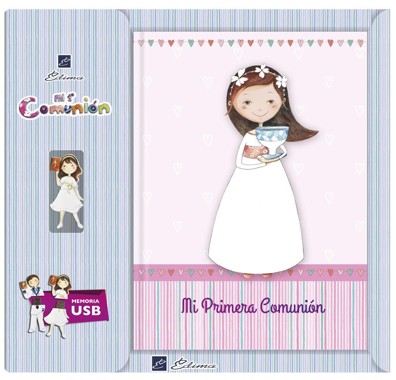 Edima–Livre de ma première Communion avec USB (u500722)