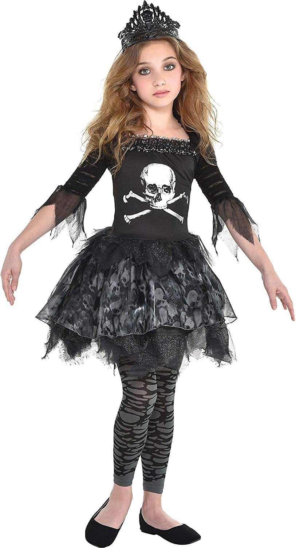 Punk//Gothic//Fancy Dress Skull /& Crossbones  Black Neck Tie