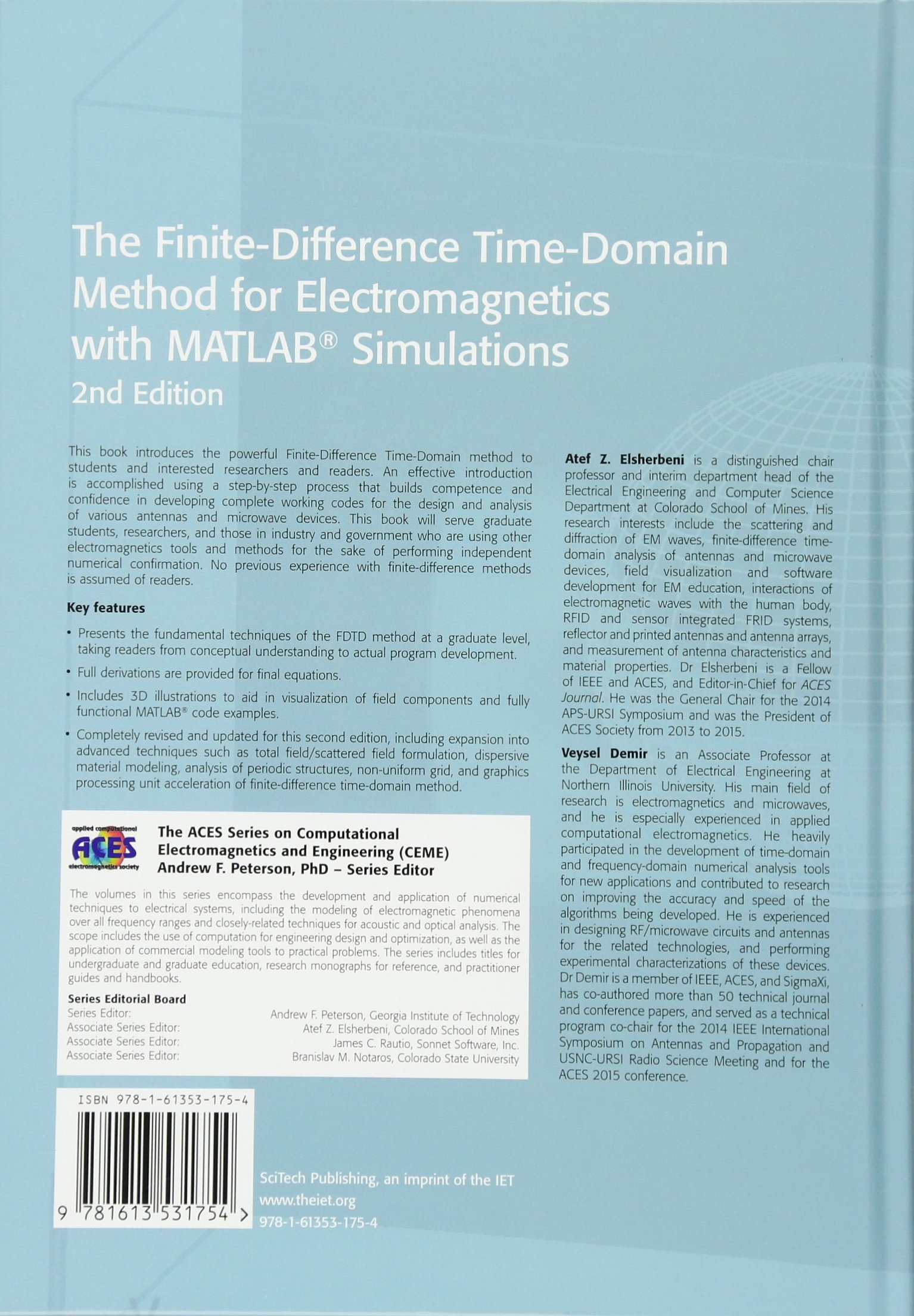 Buy The Finite-Difference Time-Domain Method for Electromagnetics