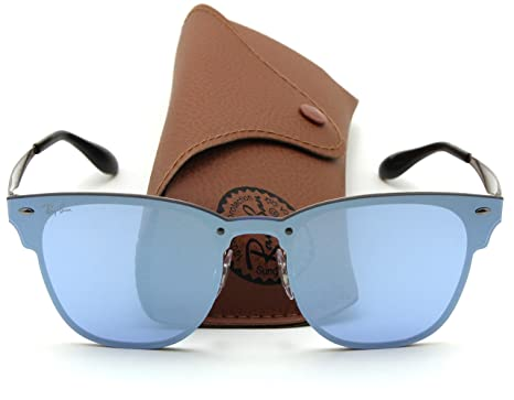 e02ee143e9 Amazon.com  Ray-Ban RB3576N BLAZE CLUBMASTER Sunglasses 90391U