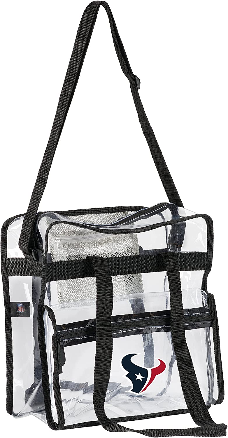 Clear 12 x 5 x 12 Officially Licensed NFL Clear Zone Stadium Friendly Tote