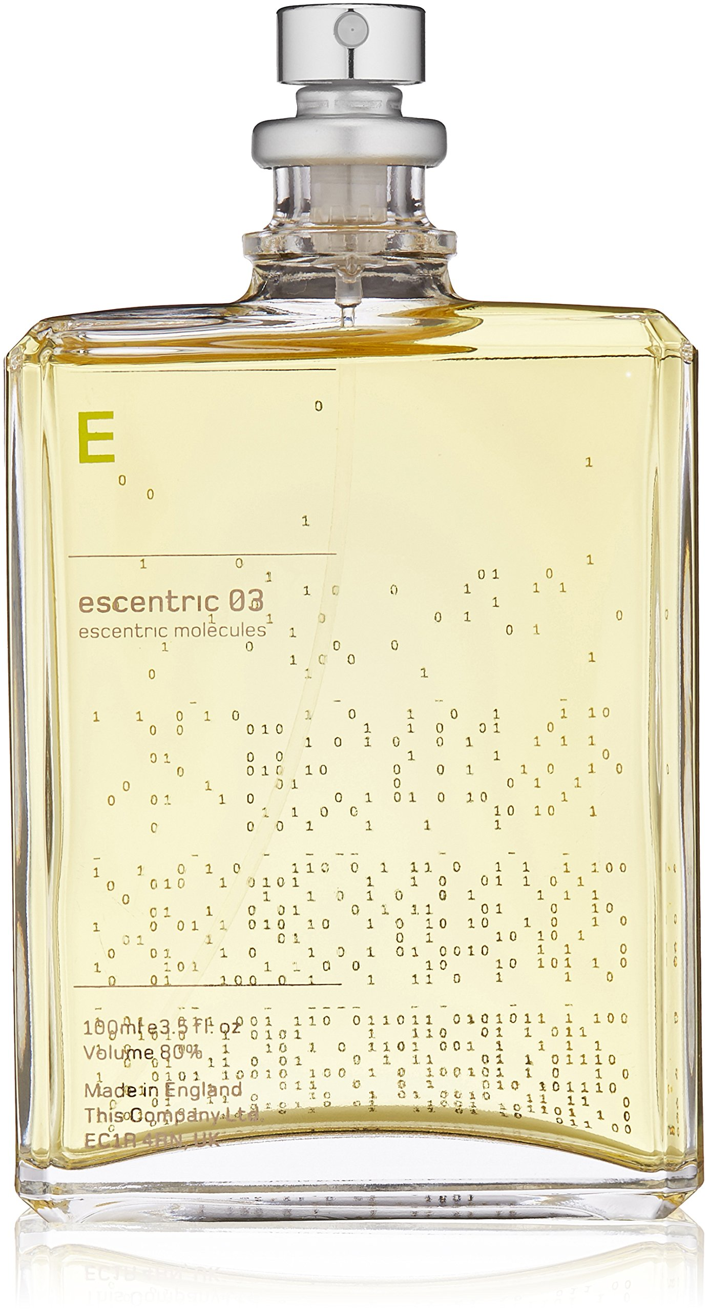 Escentric Molecules Escentric 03 Eau de Toilette Spray Unisex, 3.5 Fl Oz