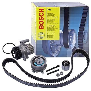 Bosch 1 987 946 477 Bomba de Agua + Kit Correa Dentada