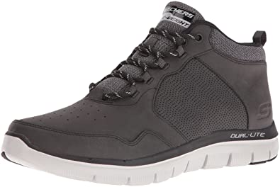 Skechers Sport Mens Flex Advantage High Key 2.0 Mid Oxford,Black,7.5 ...