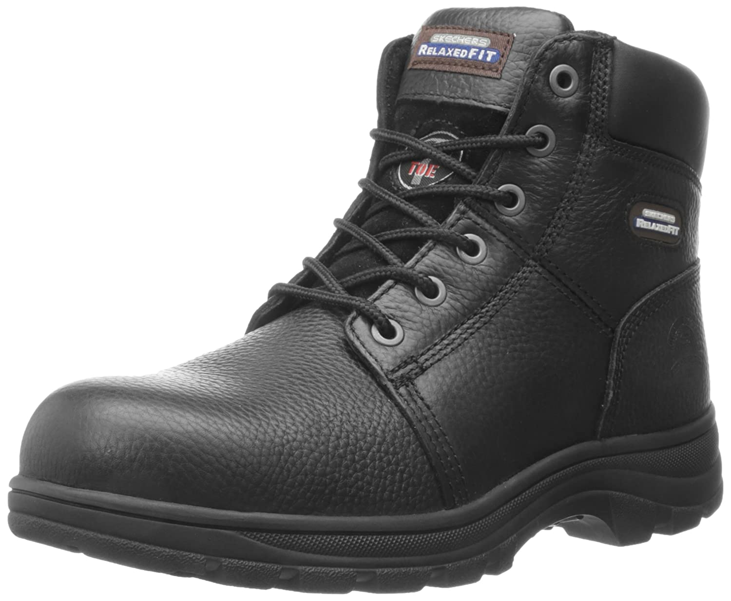 Amazon.com: Skechers for Work Men's 77009 Workshire Relaxed Fit ...