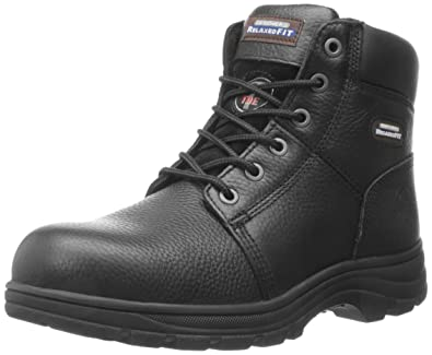 ef471049bb1 Skechers for Work Men's Workshire Relaxed Fit Work Steel Toe Boot