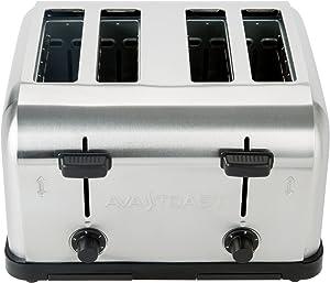 TableTop King MDT4 Medium Duty 4-Slice Commercial Toaster - 1 1/2