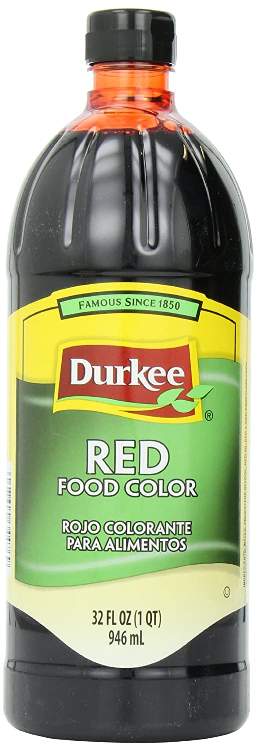 Durkee Food Color, Red, 32-Ounce