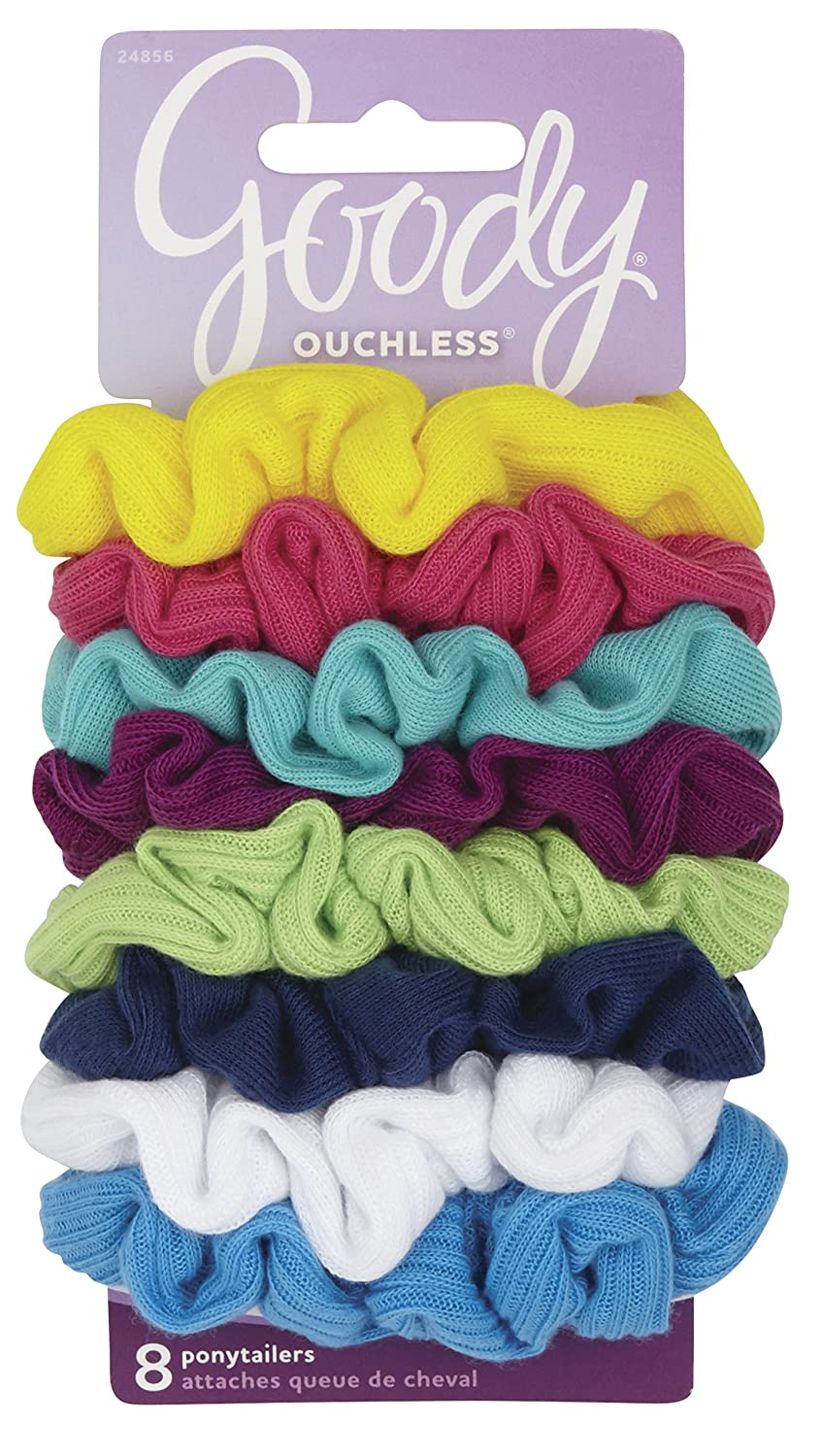 Goody Scrunchies, Assorted Colors 1 pack by Goody Goody Products 24856