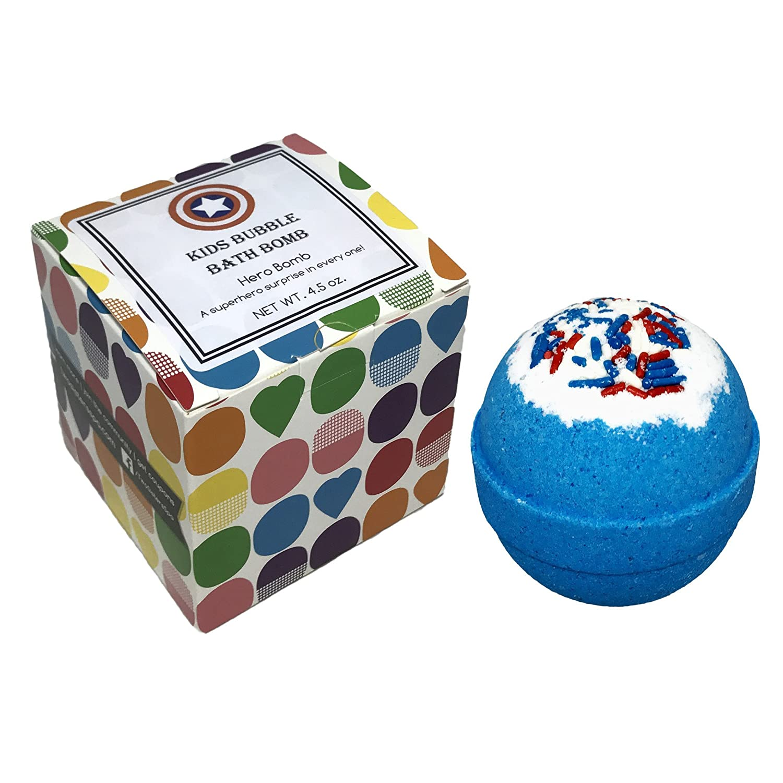 Birthday Surprise Bubble Bath Bomb With Surprise Kids Cupcake