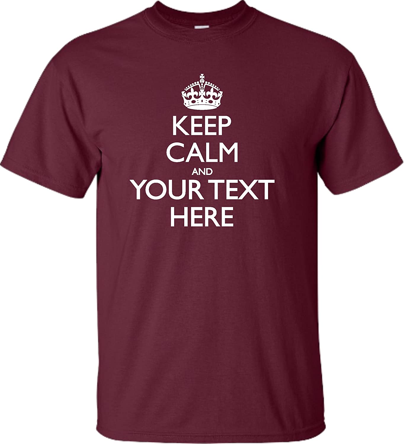 Amazon Go All Out Adult Personalized Keep Calm And Customizable
