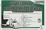 J.J. Keller 8581 Driver's Daily Log Book