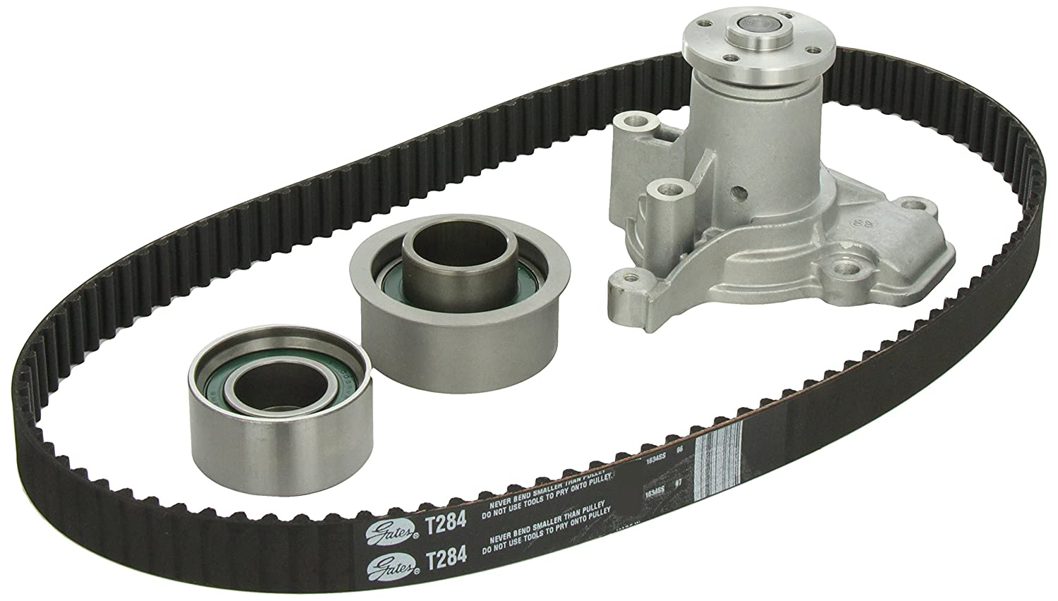 Gates TCKWP284 Engine Timing Belt Kit with Water Pump