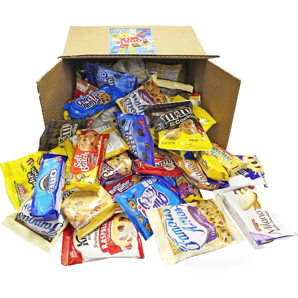 A Great Surprise Variedad de cookies Pack surtido individualmente incluyendo: Galletas Oreo, Keebler, galletas de la abuela: Amazon.es: Hogar