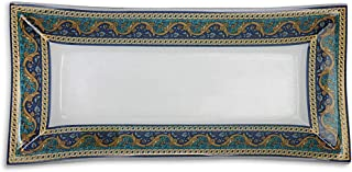product image for Renaissance Floral Border Platter