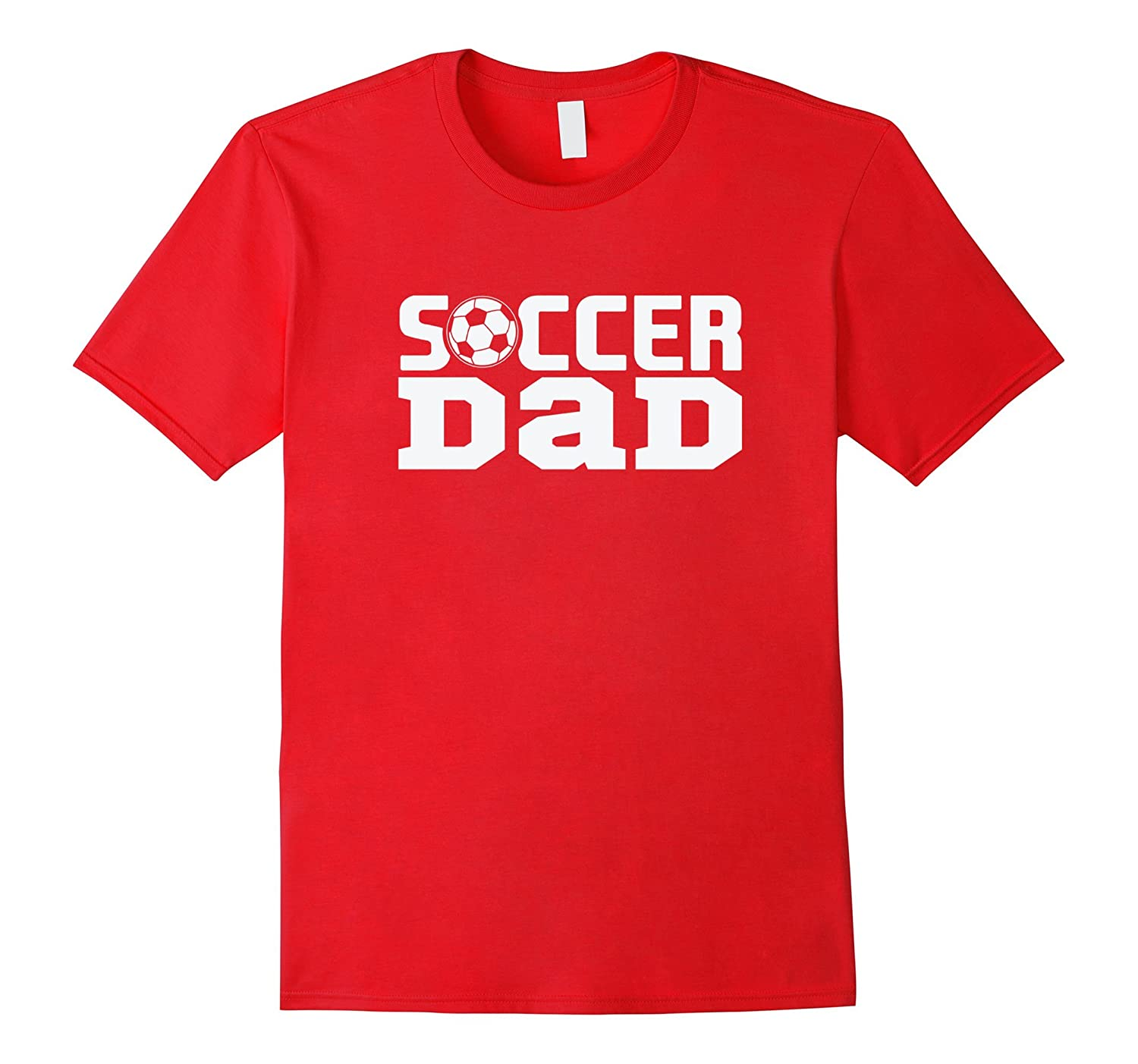 Soccer Dad With Soccer Ball T Shirt-TH