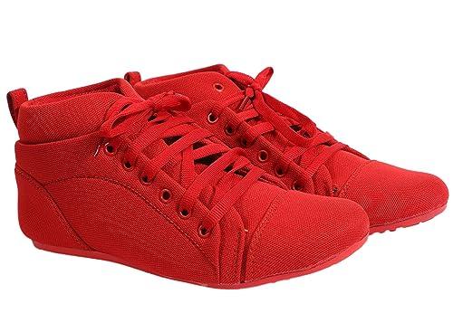 Buy DAMEN MODE Women RED Casual Shoes