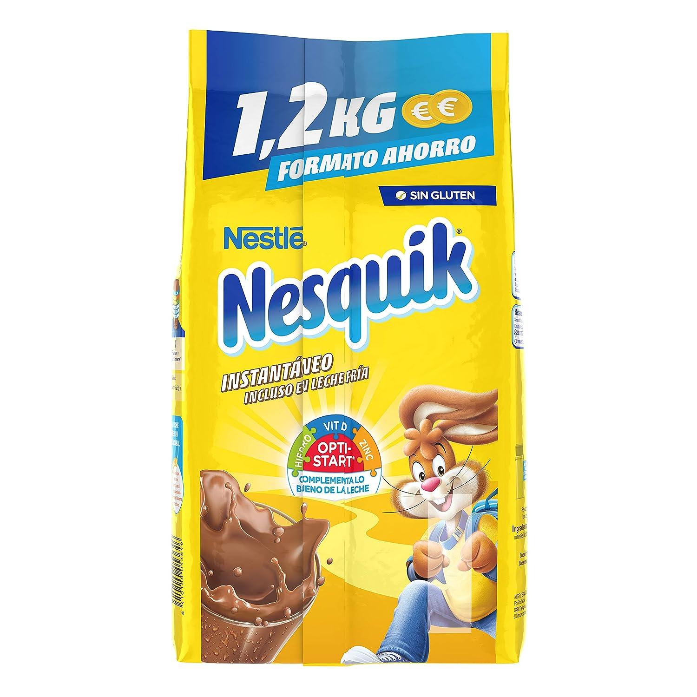 Nestlé Nesquik Cacao Soluble Instantáneo - 1,2 kg: Amazon.es: Amazon Pantry