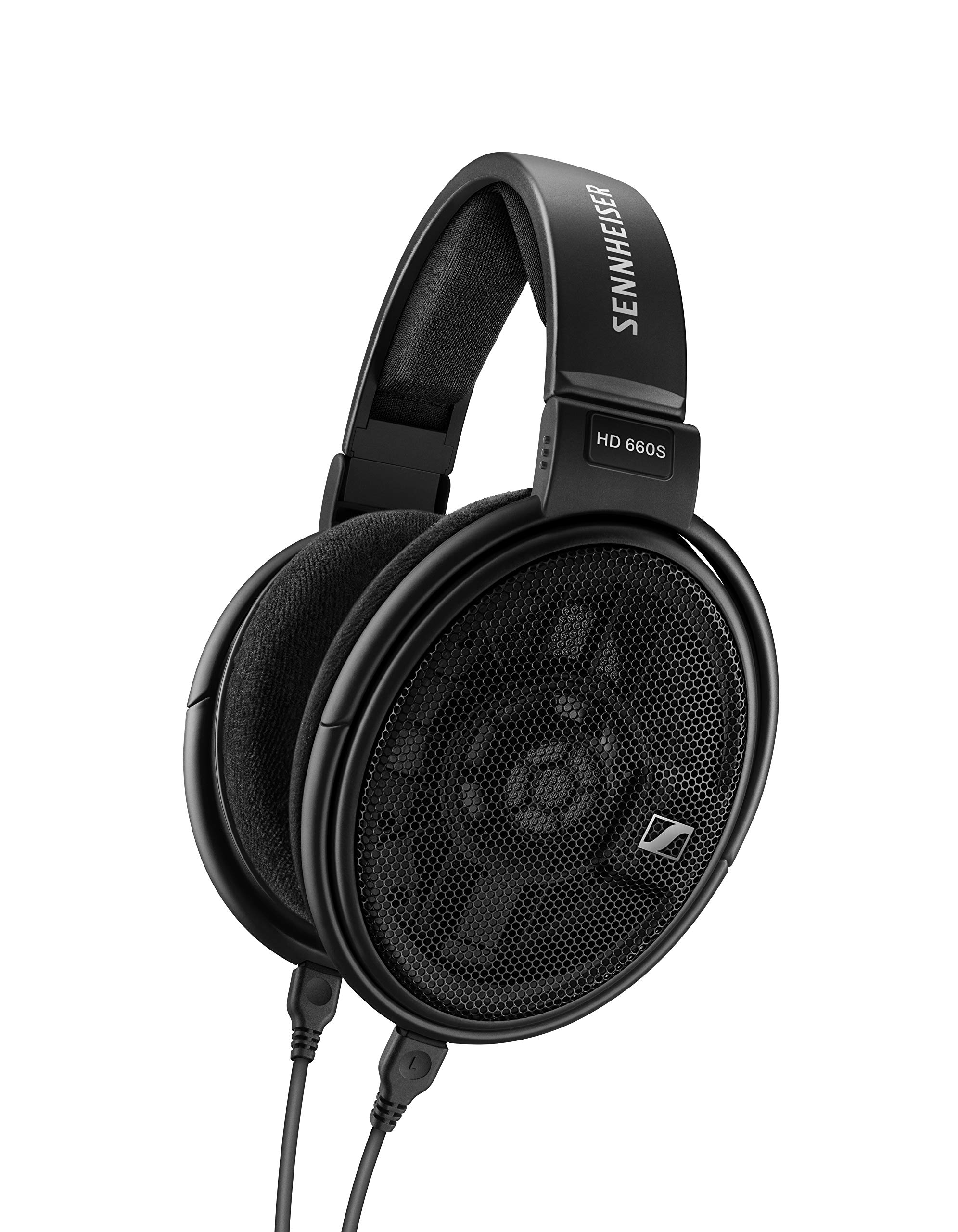 Sennheiser HD 660 S Open, Dynamic Lightweight Circumaural Headphones with Low Impedence and Improved Transducer Design for Audiophiles, Black