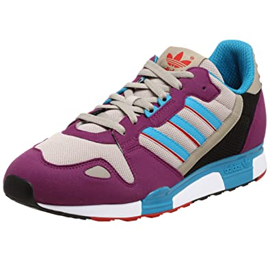 first rate fe301 67d82 adidas Originals Mens ZX800 Trainers, Violet/Turq/Red, 13 UK ...