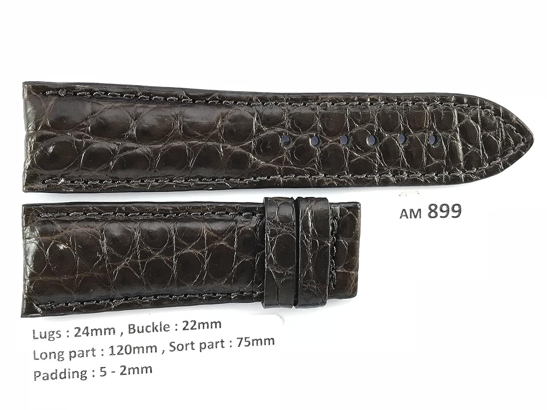 le_vietnam APPAREL メンズ US サイズ: 24mm / 22mm カラー: ブラウン  B078M3B9YM