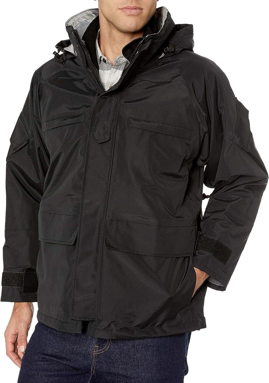 Tru-Spec 2037 H2O Proof Law Enforcement Parka w//Polar Fleece Liner Black