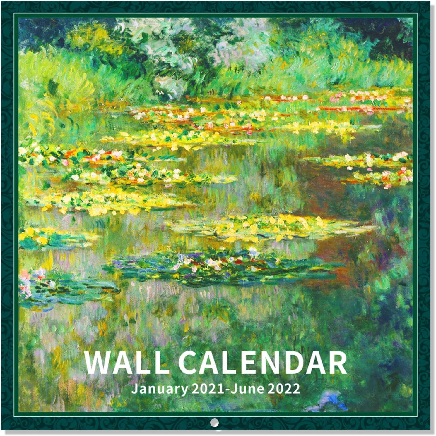 Calendario de pared 2021-30 x 30 cent/ímetros Mensual Vista incluye 180 etiquetas en In Autom/óvil Theme con famosos coches de lujo de 16 meses