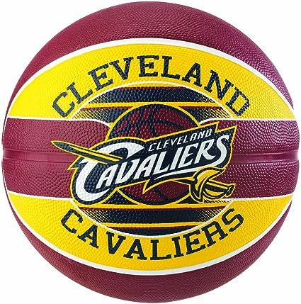Spalding NBA Team Cleveland Cavs 83-504Z Balón de Baloncesto ...