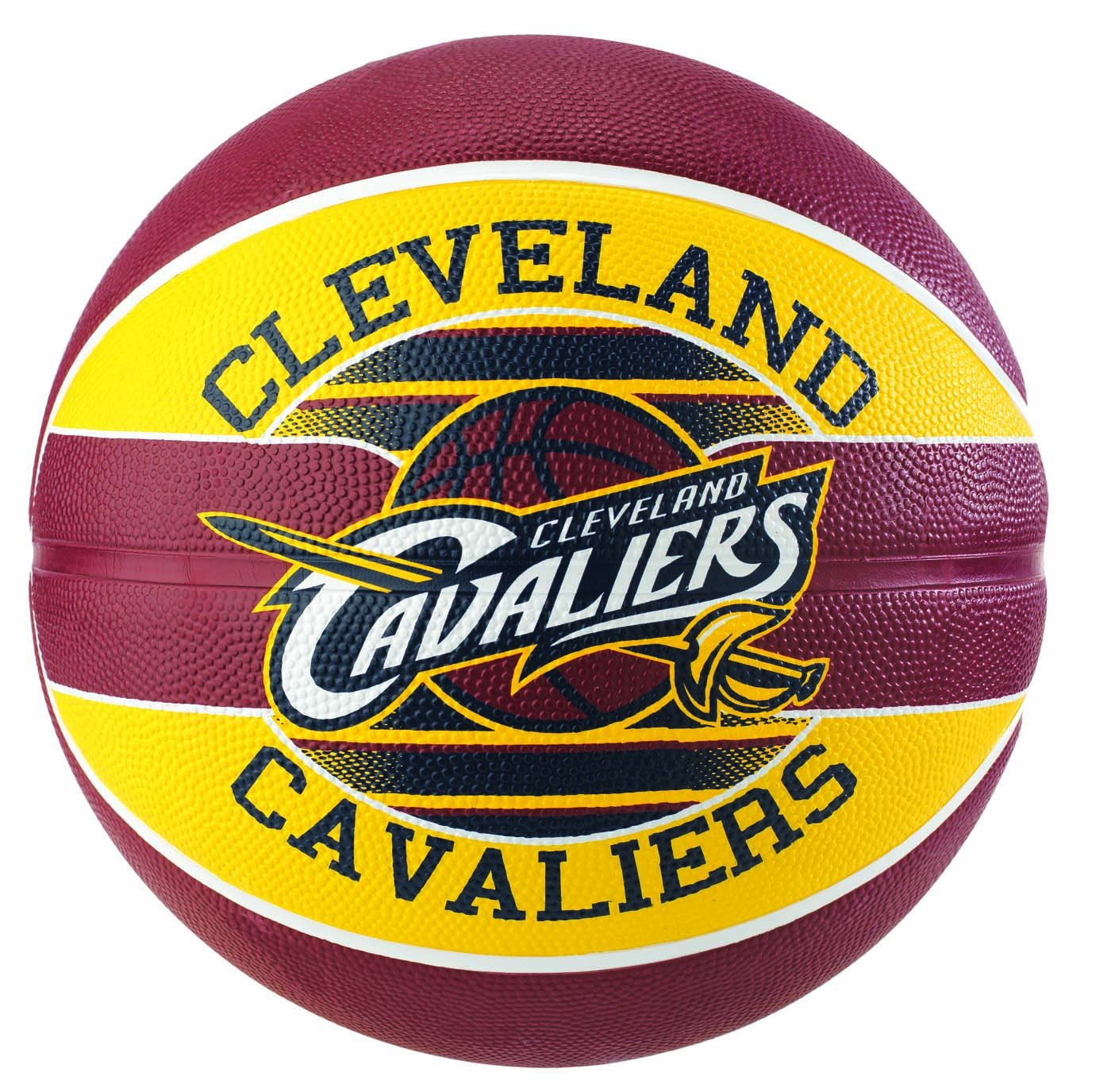 Spalding NBA Team Cleveland Cavs Ballon de Basket Mixte