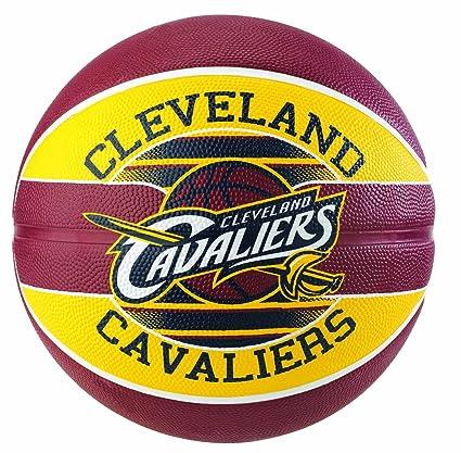 Spalding Ballon NBA Team Ball Cleveland Cavaliers: Amazon.es ...
