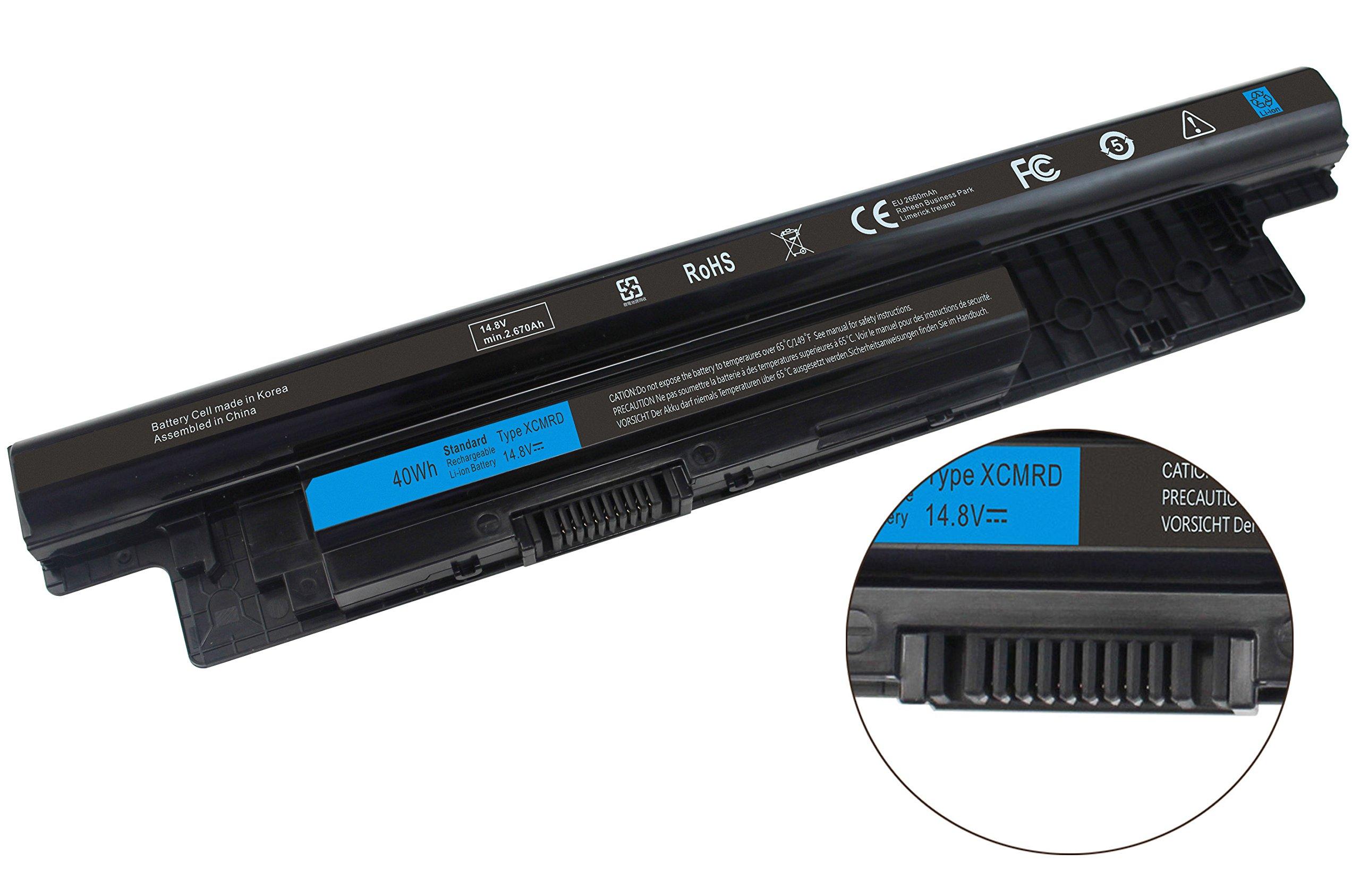 Bateria Xcmrd 14.8v 40wh Para Dell Inspiron 14 15 17 14r 15r 17r Vostro 2421 2521