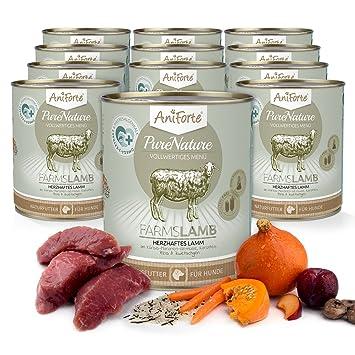 AniForte purena Ture húmedo Forro 800 g Farms Lamb Perros ...